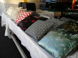 flea market pillows